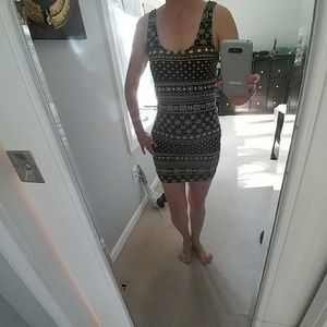 Donating 2/1 Black and tan dress
